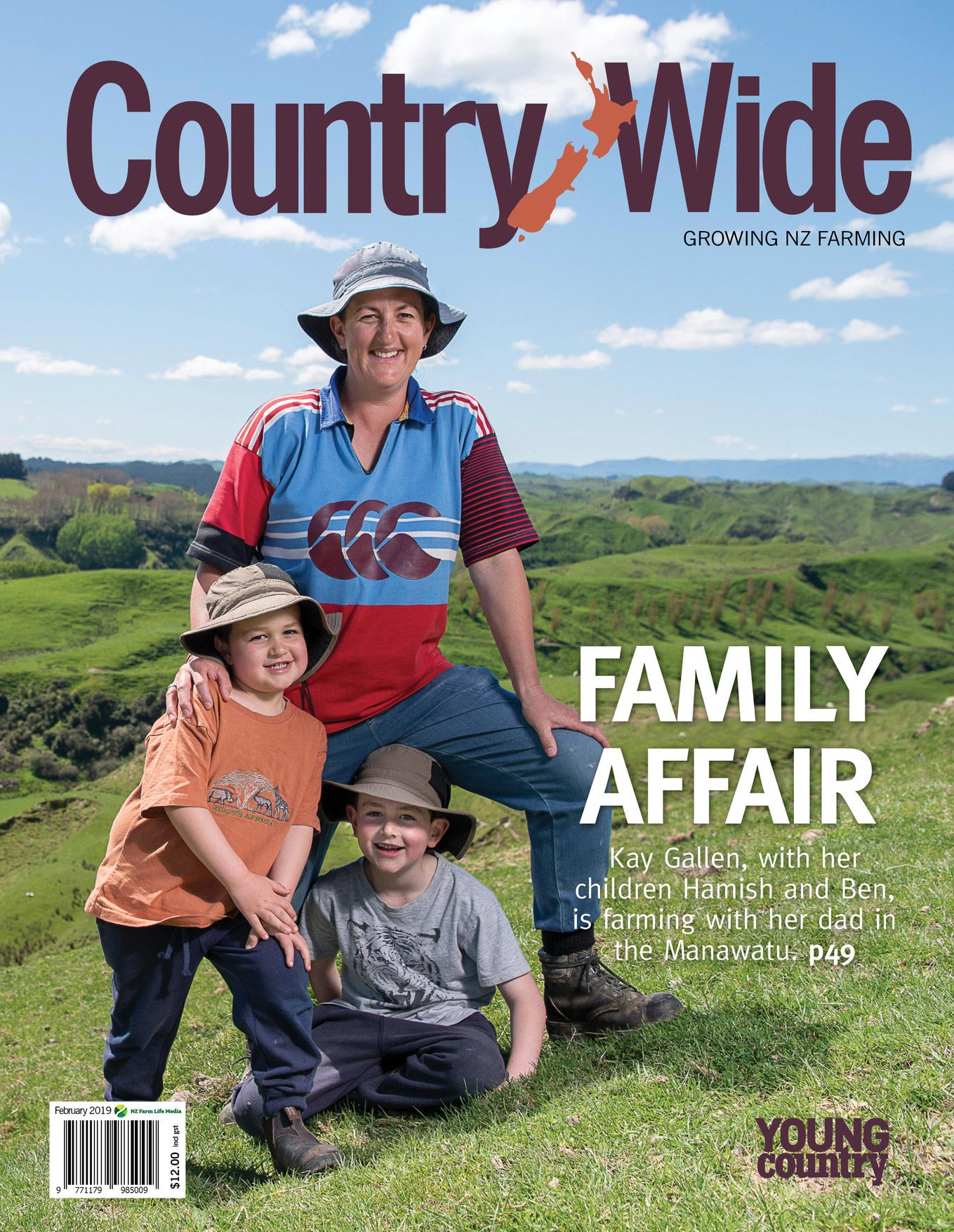 country wide magazine cover