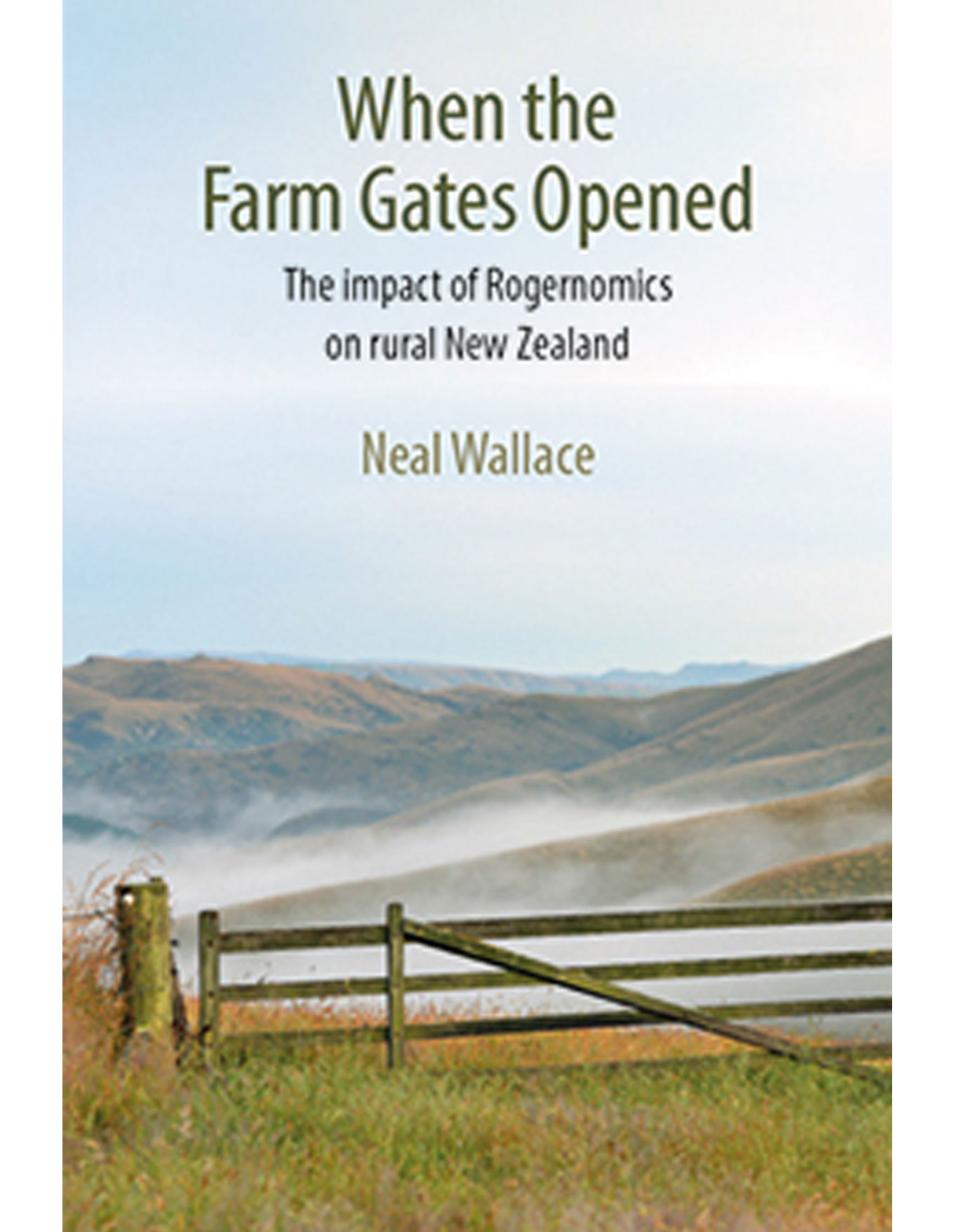 book cover when the farm gate opened