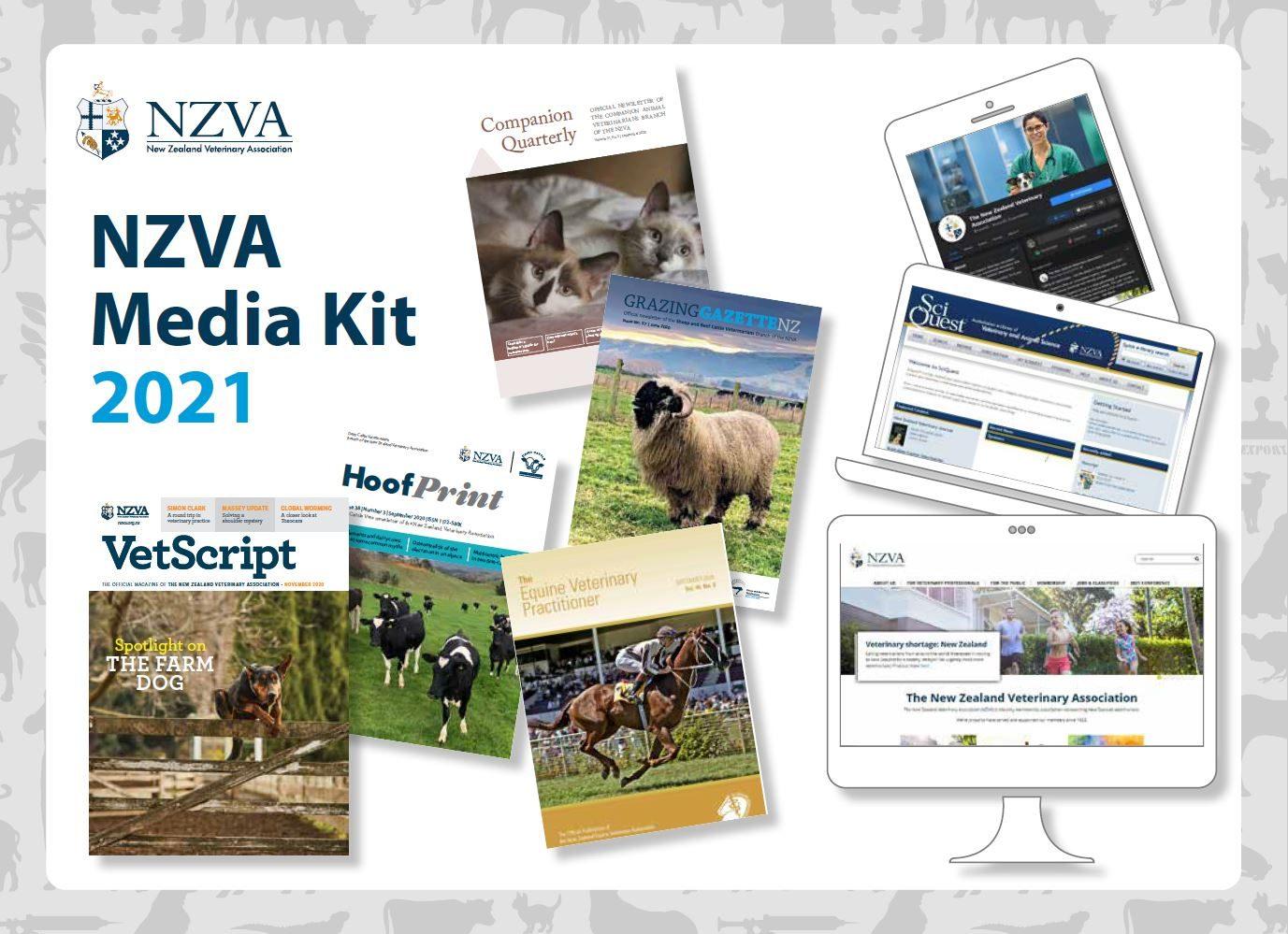 NZVA Media kit 2021 cover